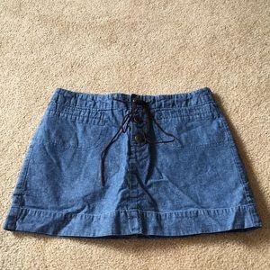 Xhilaration skirt skort shorts denim 5 jean